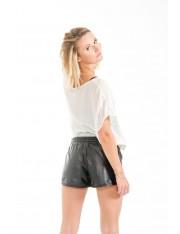 Shorts Lammleder